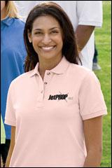 JP-L420 -- Ladies Pique Knit Sport Shirt