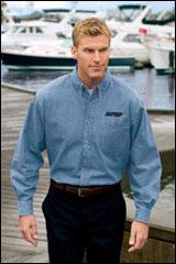 JP-SP10 -- Long Sleeve Denim Shirt